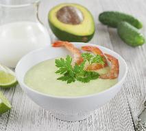 Zupa jogurtowa z awokado