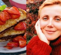 Kasia Zielińska pociesza się french toast: zobacz przepis na francuski tost smażony w jajku