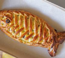 Ryba w cieście z pieczarkami - przepis na oryginalne danie