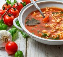 Zupa pomidorowa na kiełbasie