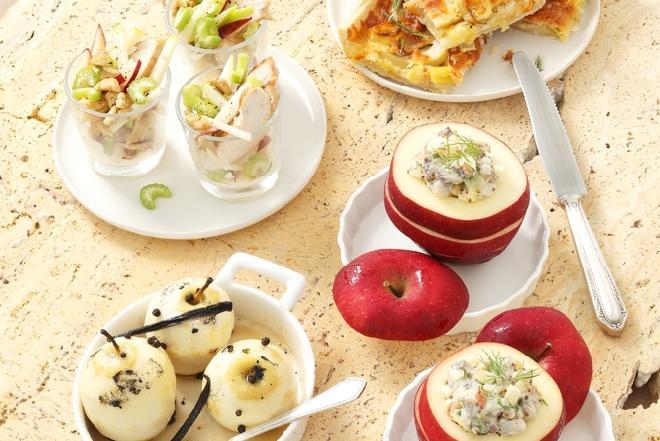 Jabłka faszerowane śledziami: przepis na nietypowe danie ze śledziami