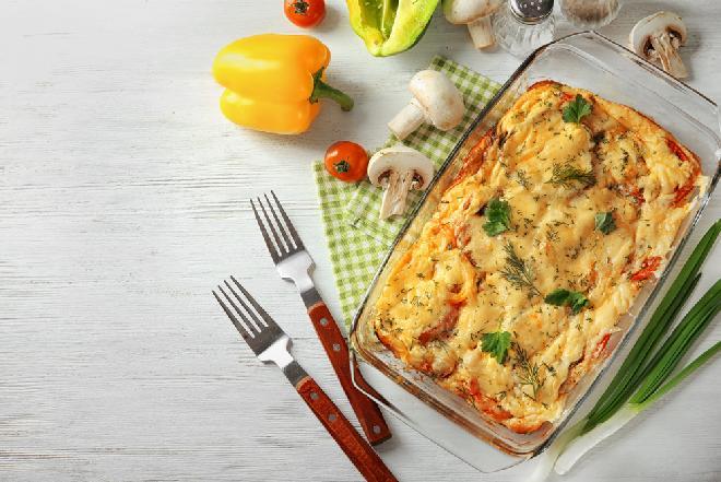 Zapiekanka gyros z ryżem: pożywny obiad dla rodziny