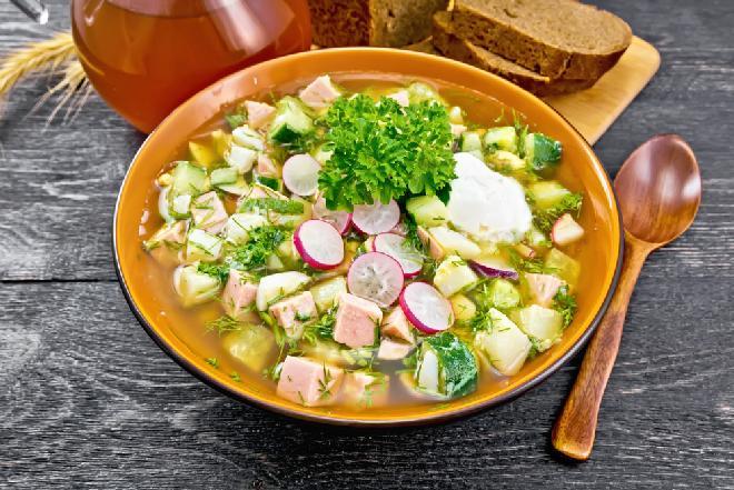 Lekka zupa z rzodkiewkami - super przepis