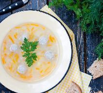 Zupa klopsowa, zabielana, jak u Magdy Gessler