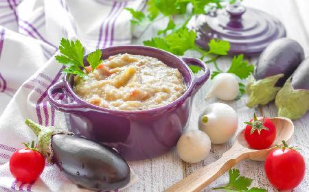 Aromatyczna pasta z bakłażana - doskonała do pieczywa