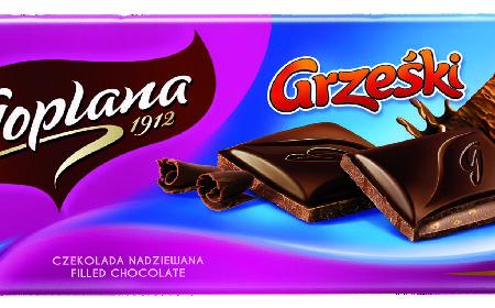Słodkie nowości od Goplany - kultowe Grześki i Jeżyki w formie czekolady