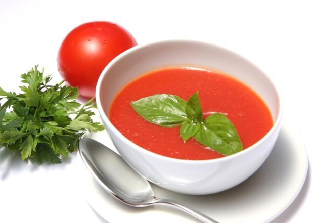 Chłodnik z pomidorów - danie na gorące dni