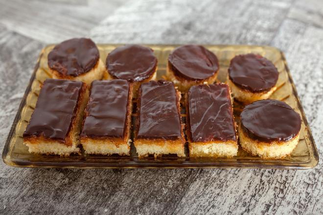 Delicje - bezglutenowe i bezmleczne ciasto o smaku delicji
