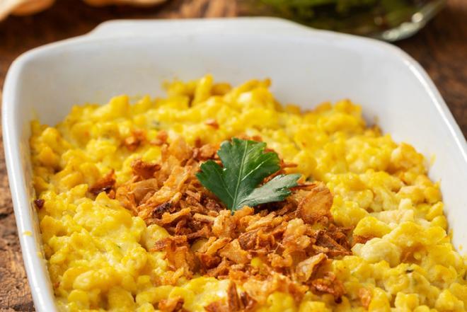 Warzywa pod makaronem - sprytna zapiekanka z niedrogich składników